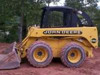 Nice john deere 250 Skiddsteer excellent shape runs