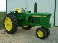 1972 John Deere 2520, Restored Phone: Location: Dubuque