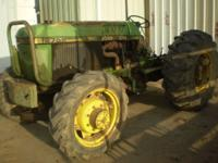 john deere 2755, just as powerful as a kubota m8030, 85