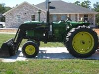 3010 John Deere diesel tractor with a Great Bend 440