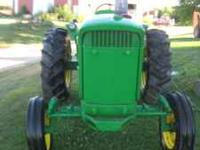 63 model John Deere 3010 Gas very rare only 654 made of