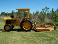 John Deere 301A 43hp Tractor. Tractor runs and looks