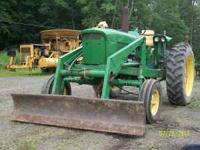 Front loader Rear tires 90% Run good First $8500 For