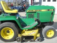 REAL NICE 318 JOHN DEERE 50 INCH CUT,, VERY GOOD