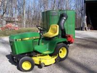 "This is a 318 John Deere w/907 hrs. w/ 50"" cutting"