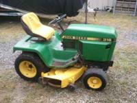 1988 318 20hp Onan. 527 hrs. All original except deck
