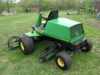 JOHN DEERE 3215 FAIRWAY MOWER RUNS PERFECT GREAT FOR