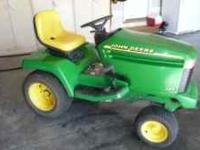 For Sale Year 2000 John Deere 325 1024 hours 18hp 48