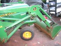 FOR SALE IS A JOHN DEERE MODEL 330 GARDEN TRACTOR, 16HP