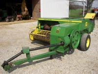 JOHN DEERE 336 BALER, VERY GOOD CONDITION, VERY