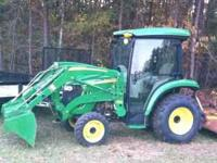 2007 John Deere 3720 tractor with loader, 4 wheel