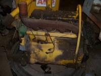 John deere 219 4 cylinder diesel engine from a 440 john