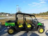 John Deere 4 seater gator 4x4 NOW...2.9% for 60 months