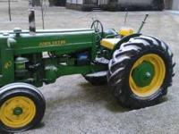john deere 40 nice tractor runs good good ruber new