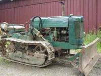 I HAVE A NICE JOHN DEERE 40 CRAWLER THAT