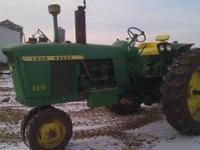 Jd 4010 gas tractor 6850 hours, 15.5-38 like new, 3