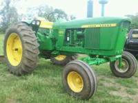 This is a very nice 4010 diesel tractor. It has