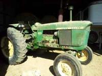 1965 John Deere 4020 gas, very well mechanically