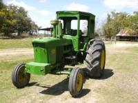 Great running tractor with cab. 99hp, great for pulling