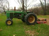 For Sale: a 1965 John Deere 4020 Gas tractor, power