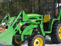 2010 John Deere 4120 large frame compact tractor,43