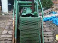 I have a 1956 John Deere 420 Crawler for sale. The