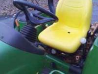 2001 john deere 4wd tractor 26 hp diesel tractor in