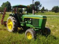 John Deere 4230 4 post good paint syncro range trans