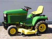 i have a john deere 425 for sale it has 1328 hours on