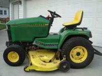 1995 425 AWS Garden Tractor in good condition