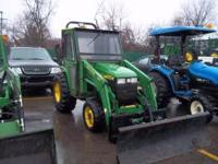 JOHN DEERE 4300 POWER REV. 420 LOADER HOURS 840