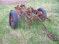 JD (John Deere) model 44 2 bottom trail plow $425  //
