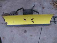"This is a John Deere 44"" front blade that will fit the"