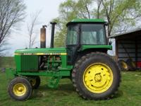 JD 4440 Tractor SN 13627 Dual Hyd, 9727 Hrs, Quad