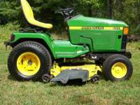1999 John Deere 445 Garden Tractor 22hp Liquid cooled