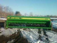 13FT 450 grain- bean drill, 6-inch spacing, no grass ,