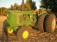 john deere 4520 250hrs on new motor,hydraulic