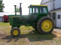 John Deere 4520 for sale. The tractor is a 1970 model