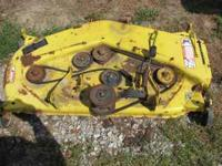 "john deere 46""deck in perfect working order off of a"