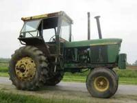 I HAVE FOR SALE A JOHN DEERE 4620 TRACTOR. THE TRACTOR