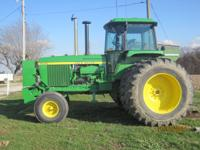 Fully restored John Deere 4630 with 2900 original