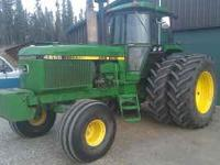 John Deere 4650, 165+hp, 15 speed powershift, 3