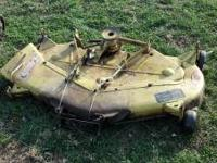 "For sale: John Deere 48"" mower deck for parts or"