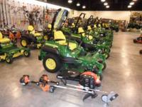 John Deere Z910 48in 3yr warranty All Echo commercial