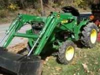model 650 ,4x4 ,model 60 loader 1271 hours new battery
