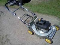 I HAVE A NICE JOHN DEERE 14SE PUSH MOWER FOR SALE, IT