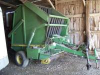 John Deere 510 Baler always shedded Wide Belts Good
