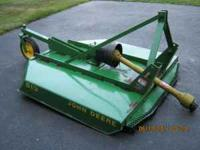 For Sale John Deere 513 Brush Mower. Five Foot cut with