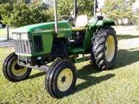 John Deere 5203, 56 Horse Power, 2 Wheel Drive, 556