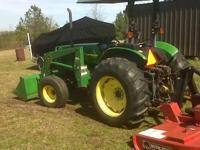 1999 John Deere 5210 utility tractor, 45 pto